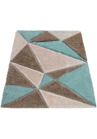 Hochflor - Teppich, »Palma 335«, Paco Home, rechteckig, Höhe 45 mm, maschinell gewebt kaufen