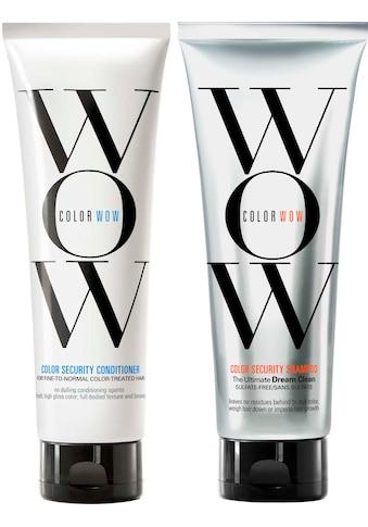 COLOR WOW Haarpflege-Set »Color Security Shampoo + Conditioner F-N«, (2 tlg.) kaufen