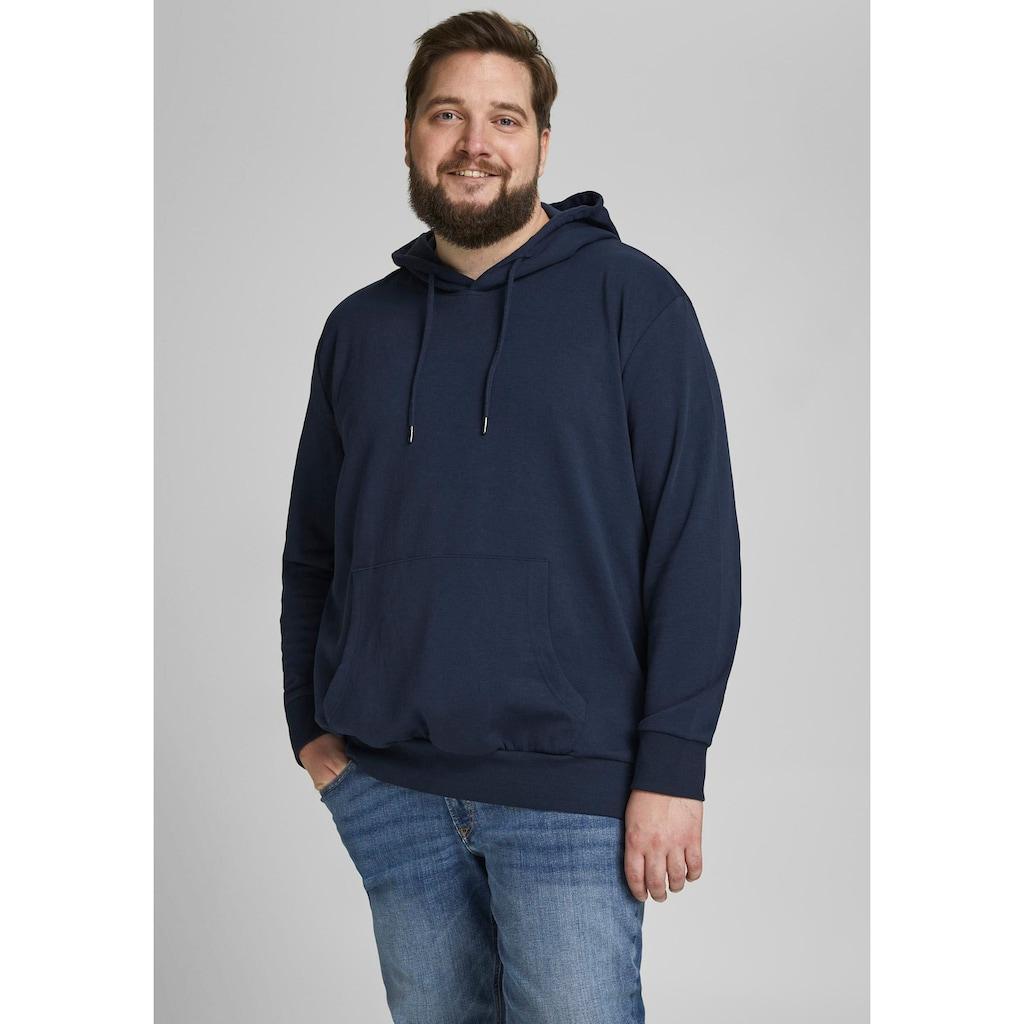 Jack & Jones Kapuzensweatshirt »BASIC SWEAT HOOD«, bis Größe 6XL