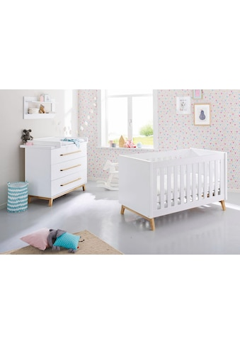 Pinolino® Babymöbel-Set »Riva«, (Spar-Set, 2 St.), breit; mit Kinderbett und... kaufen