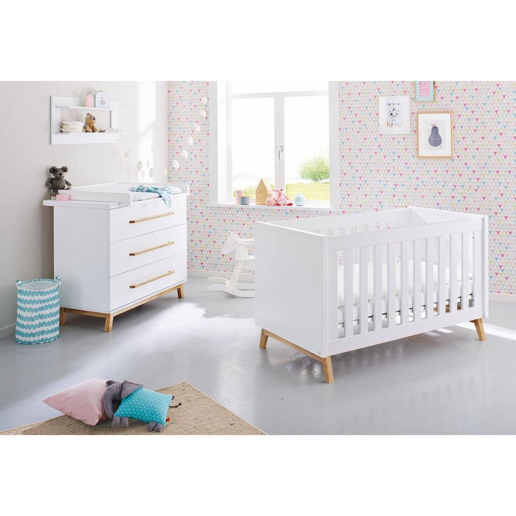 Pinolino® Babymöbel-Set »Riva«, (Spar-Set, 2 St.), breit; mit Kinderbett und Wickelkommode