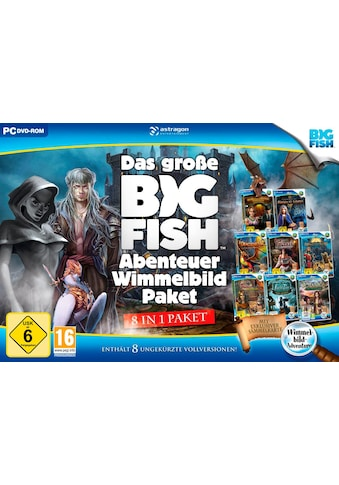 Das große Big Fish Abenteuer Wimmelbild - Paket PC kaufen