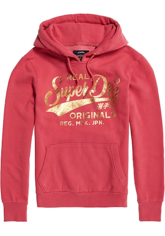 Superdry Hoodie »RO TEXT INFILL ENTRY HOOD« kaufen