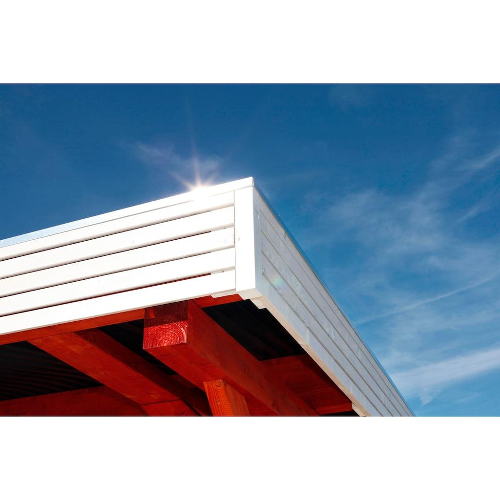 Skanholz Einzelcarport »Spessart«, Leimholz-Nordisches Fichtenholz, 291 cm, braun