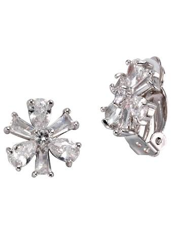 J.Jayz Paar Ohrclips »funkelndes Blütendesign« kaufen