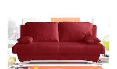 Jockenhöfer Gruppe Schlafsofa, inklusive Bettfunktion und Bettkasten, wahlweise mit Federkern, frei im Raum stellbar kaufen