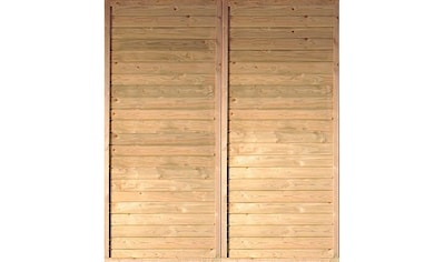 KARIBU Seitenwand für Carport »Eco 2«/»Eco 3«, BxH: 180x200 cm kaufen