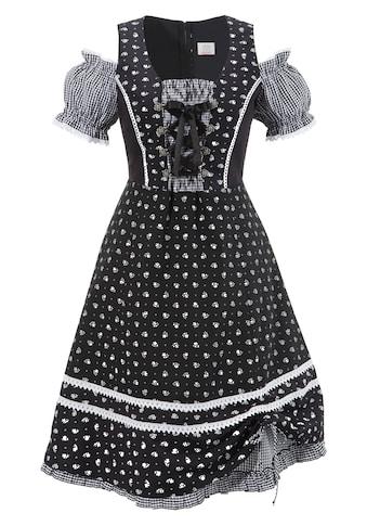 Trachtenkleid Damen mit Puffärmel kaufen