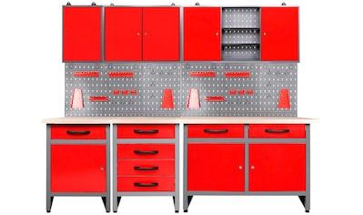 ONDIS24 Werkstatt - Set »Bastler«, höhenverstellbar, inkl. Hakenset kaufen