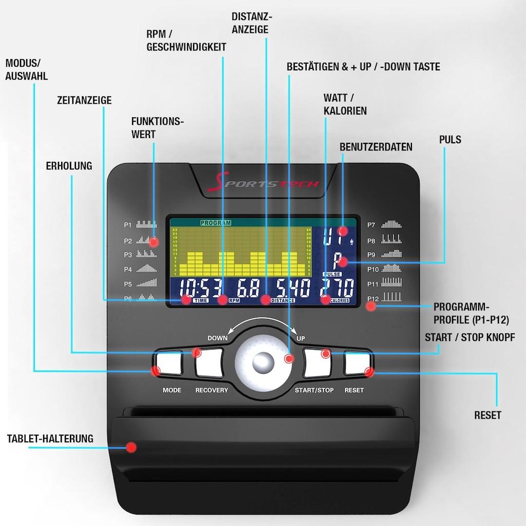 Sportstech Ergometer »ESX500«