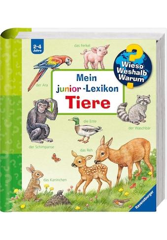 """Ravensburger Buch """"Mein junior - Lexikon: Tiere  -  Wieso? Weshalb? Warum?"""" kaufen"""