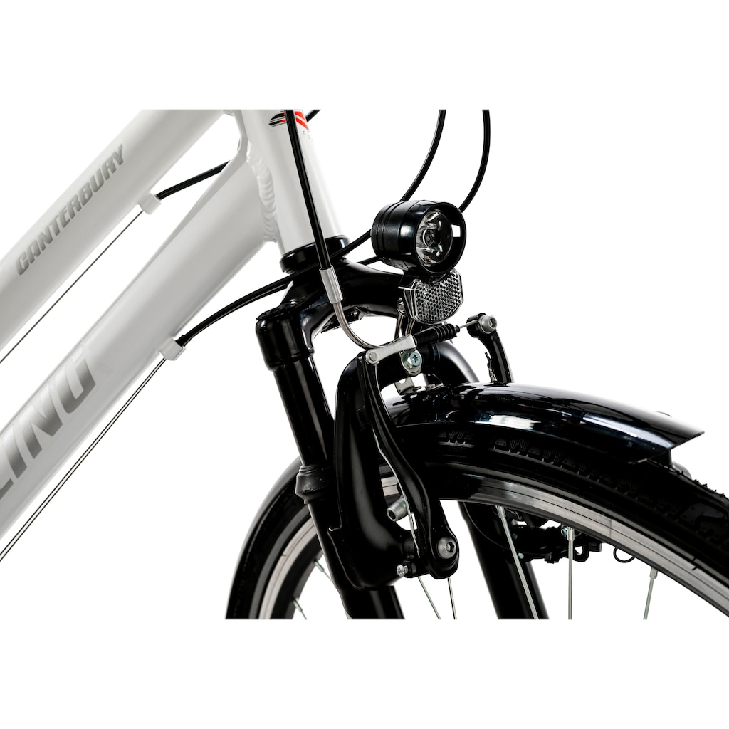 KS Cycling Trekkingrad »Canterburry«, 21 Gang, Shimano, Tourney Schaltwerk, Kettenschaltung