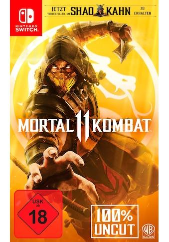 Mortal Kombat 11 Nintendo Switch kaufen