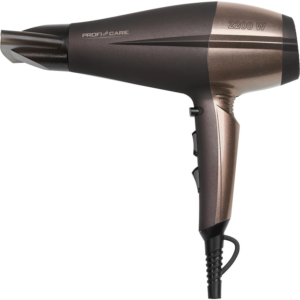 ProfiCare Haartrockner »PC-HT 3010«, 2200 W, 1 Aufsätze, 2200 Watt max.