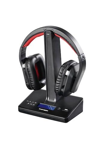 Thomson Kabelloser Over - Ear Funk Kopfhörer, DAB Adapter, digital »Inkl. DAB Empfänger, WHP5407« kaufen