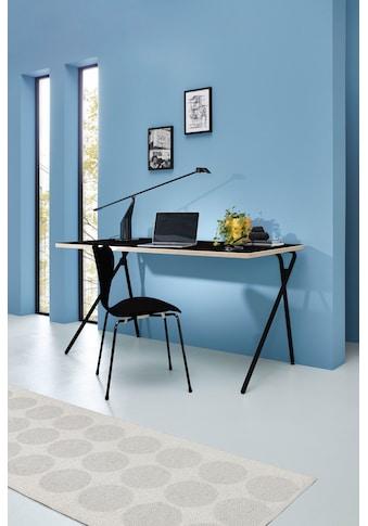 Müller SMALL LIVING Sekretär »PLATO One«, schwarzes Gestell, Home Office minimal,... kaufen