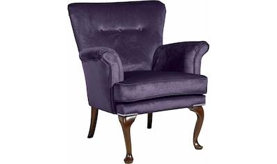 Max Winzer® Sessel »Barbie«, im Barockstil, mit Ziernagelband kaufen
