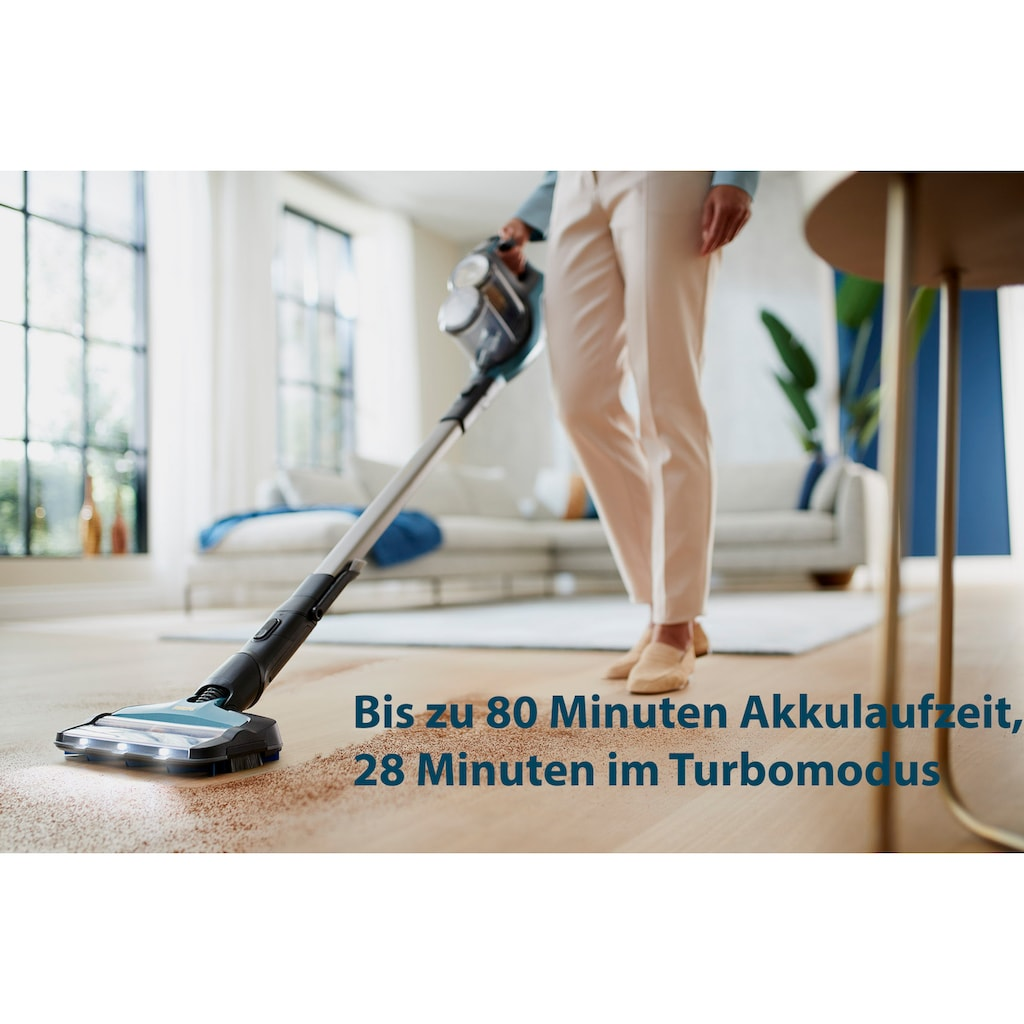 Philips Nass-Trocken-Akkusauger »XC8147/01 SpeedPro Max Aqua«, 360°-Saugdüse, 80 Min. Akkulaufzeit