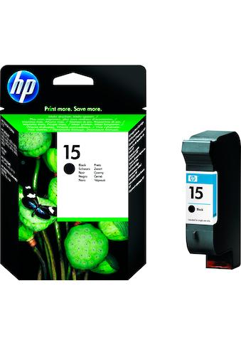 HP »hp 15 Original Schwarz« Tintenpatrone (1 - tlg.) kaufen