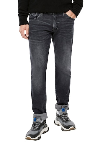 Q/S designed by Straight-Jeans »RICK«, leichte Used-Waschung kaufen