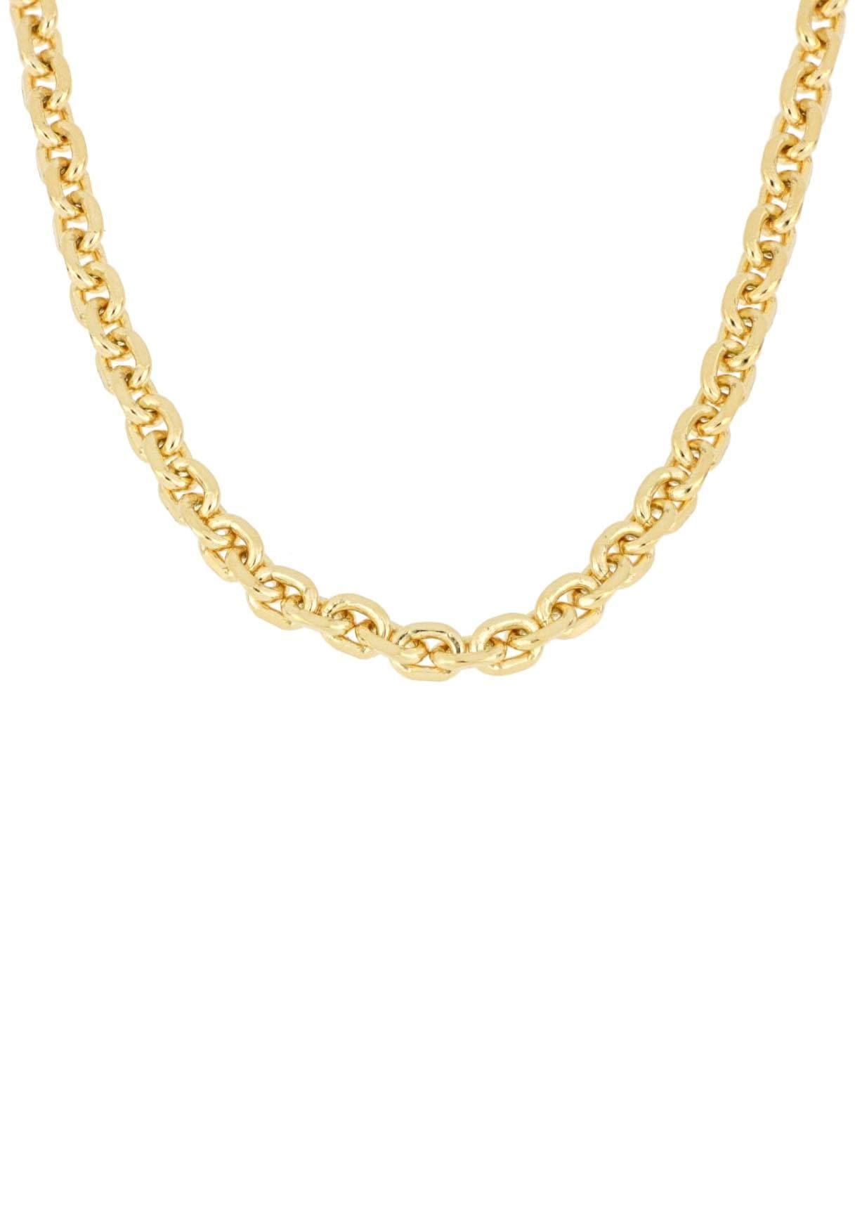 Firetti Gliederkette »Ankerkettengliederung, 4-fach diamantiert« | Schmuck > Halsketten > Gliederketten | FIRETTI