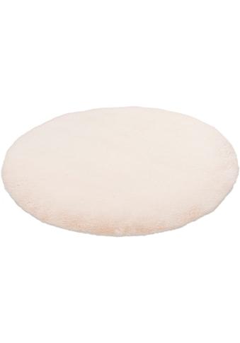 Obsession Fellteppich »My Cha Cha 535«, rund, 18 mm Höhe, Kunstfell, ein echter Kuschelteppich, Wohnzimmer kaufen