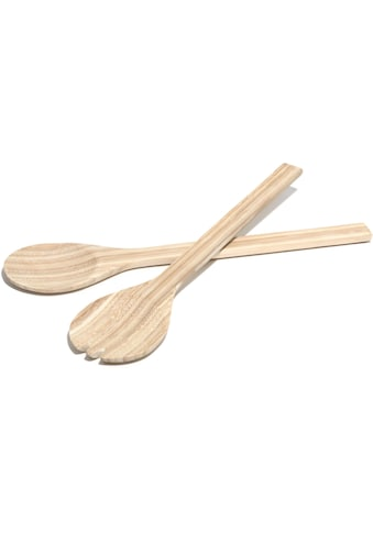 Franz Müller Flechtwaren Salatbesteck »Bamboo«, (Set, 2 tlg.), aus Bambus kaufen