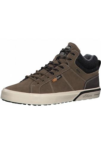 s.Oliver Sneaker, mit Logo-Aufnäher kaufen