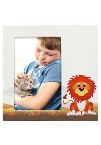 """Hama Porträtrahmen """"Löwe Leo"""", Weiß, 10 x 15 cm kaufen"""