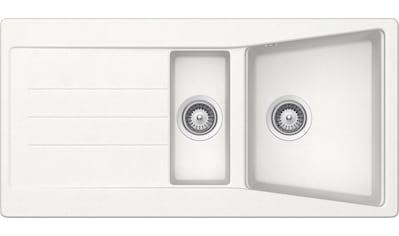 RESPEKTA Einbauspüle »SEATTLE1.5B«, 100x50 cm, 1,5 Becken kaufen