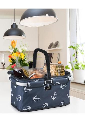 Genius Einkaufskorb »Falko dekoriert«, mit Alugestell kaufen