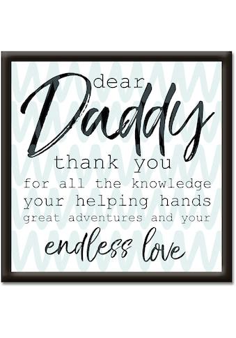 Artland Wandbild »Lieber Papa« kaufen