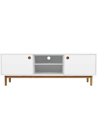 TOM TAILOR Lowboard »COLOR BOX«, mit 2 Türen & Kontrast-Regaleinsatz, Füße Eiche... kaufen