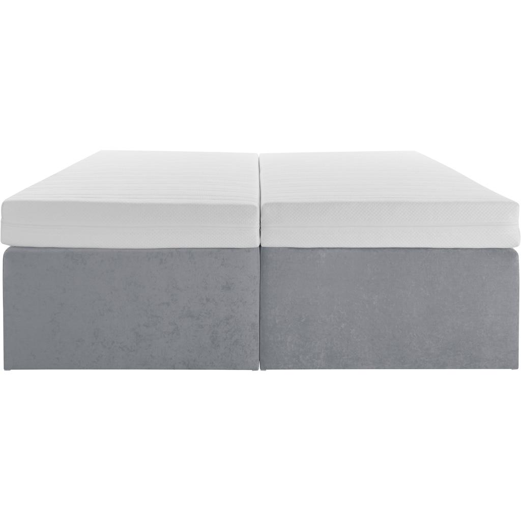 Westfalia Schlafkomfort Boxspringbett, mit integrierter Schublade, frei im Raum stellbar