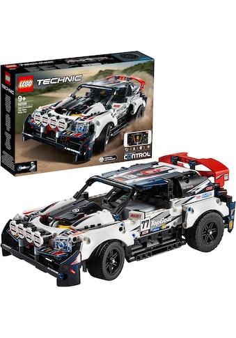 """LEGO® Konstruktionsspielsteine """"Top - Gear Ralleyauto mit App - Steuerung (42109), LEGO® Technic"""", (463 - tlg.) kaufen"""