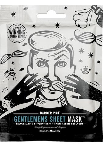 BARBER PRO Gesichtsmaske »GENTLEMEN'S SHEET MASK™«, Pflege und Anti-Aging kaufen