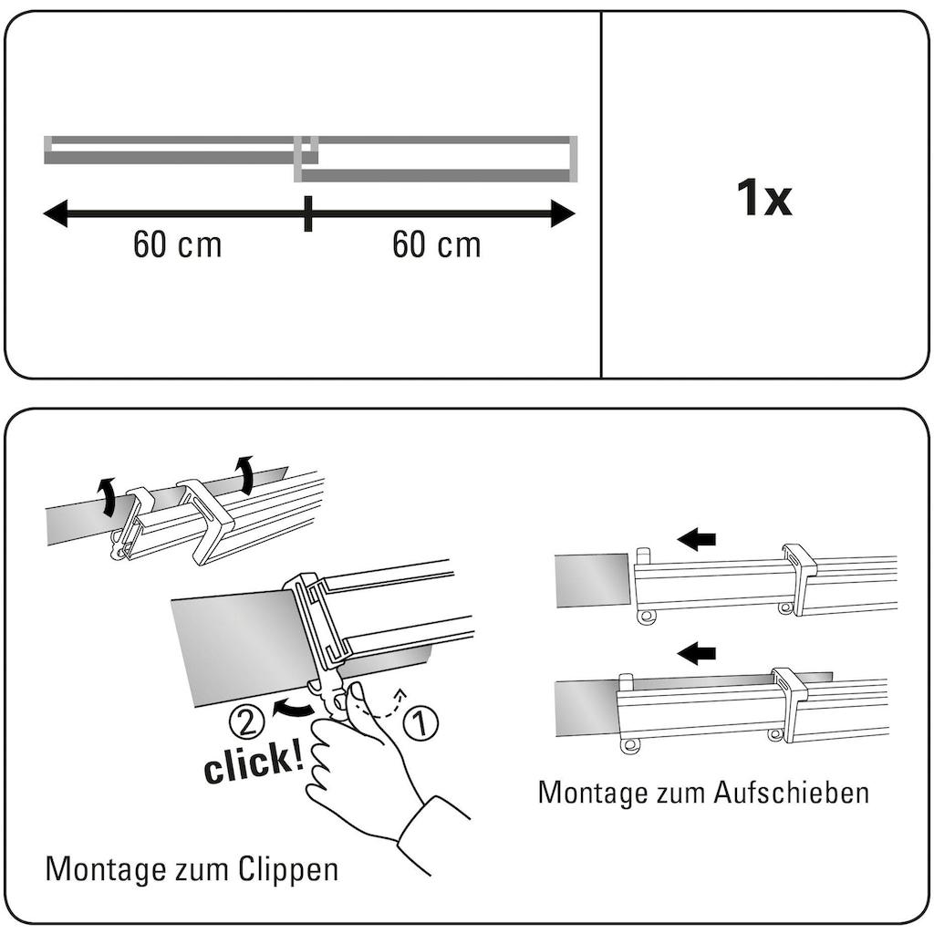 Paneelwagen »Clip-On Paneelwagen«, GARDINIA, passend für Schiebegardinen Schiebevorhänge Flächenvorhangschiene
