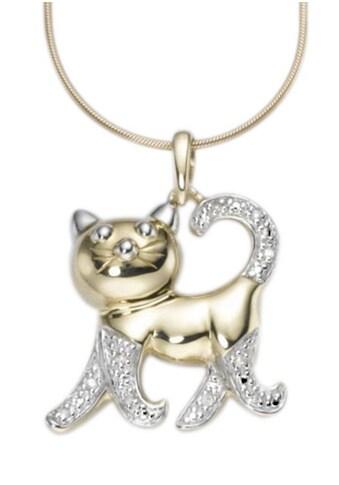 Firetti Kettenanhänger »Katze im modischen Design« kaufen