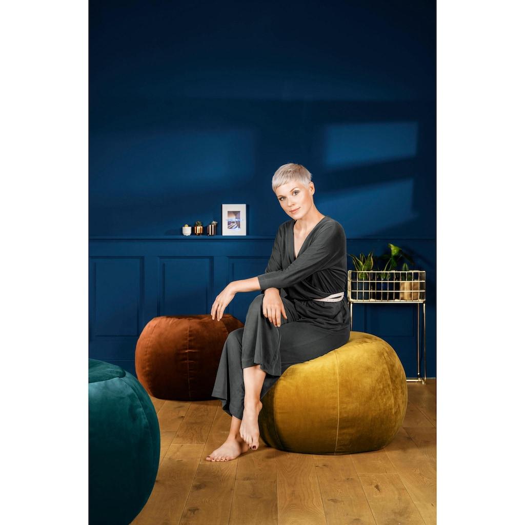 Sitting Point Sitzsack »Sitzhocker Plump VELUTO«, mit Innensack