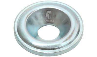 RAMSES Senkscheibe , für Holzbauschrauben 10 mm Stahl blau verzinkt 50 Stück kaufen