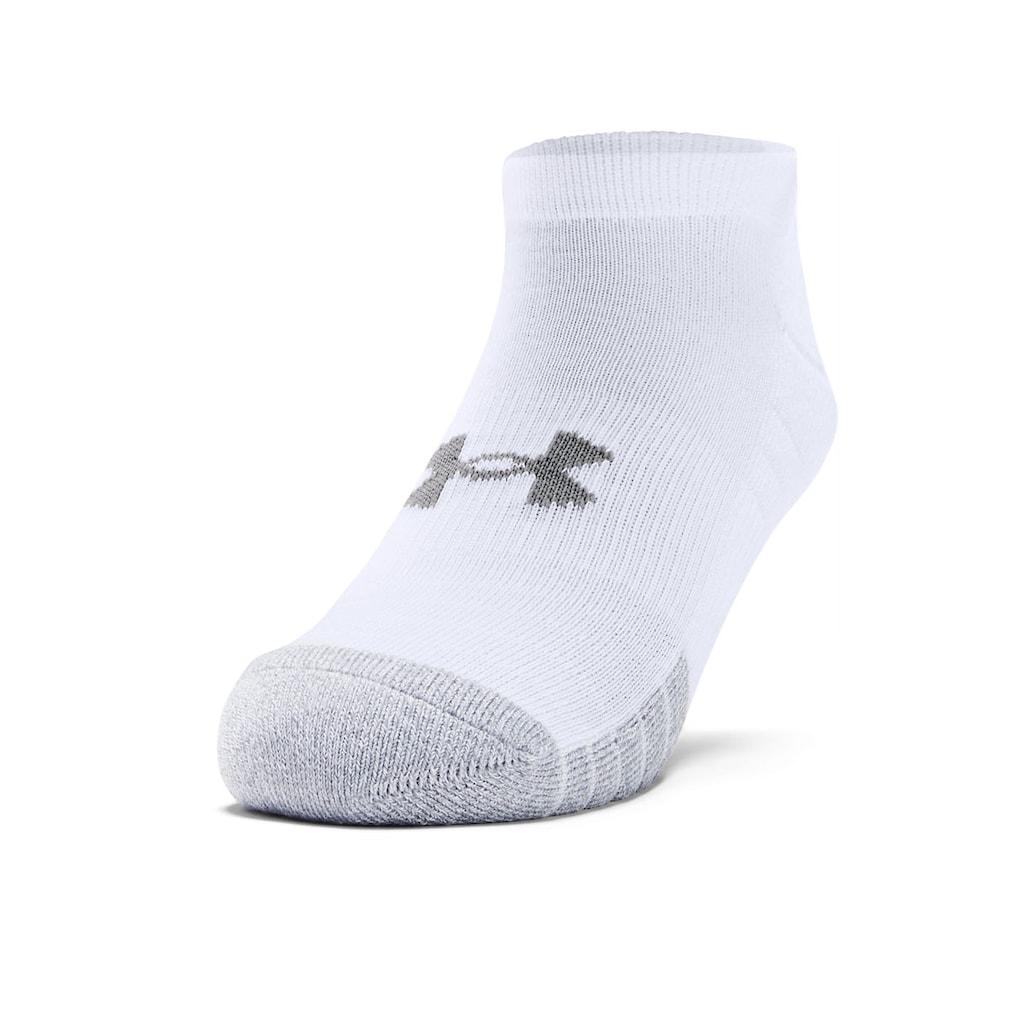 Under Armour® Sneakersocken, (3 Paar), mit anatomischer Polsterung