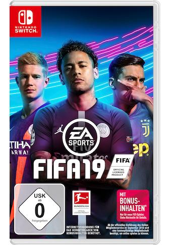 Electronic Arts Spiel »Fifa 19«, Nintendo Switch kaufen