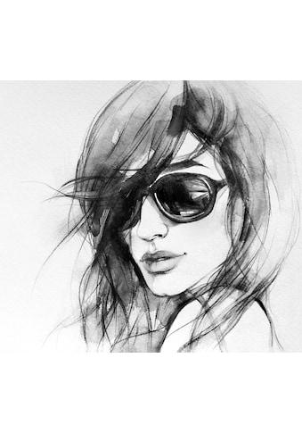 Wall-Art Vliestapete »I wear my sunglasses« kaufen