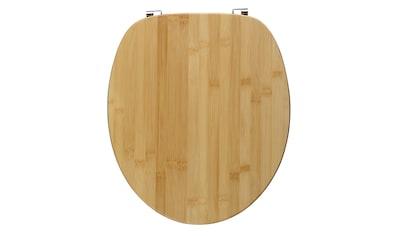 WC - Sitz »Bambus« kaufen
