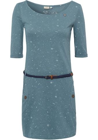 Ragwear Jerseykleid »TANYA ORGANIC«, (2 tlg., mit abnehmbarem Gürtel), mit... kaufen
