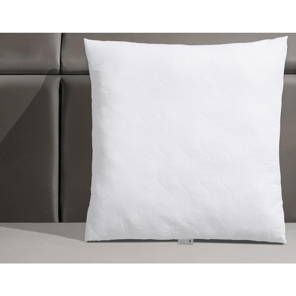 Älgdröm Kunstfaserkopfkissen »Skagern«, Füllung: Polyesterfaser, Bezug: 100% Baumwolle, (1 St.), ideal stützend