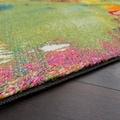 Paco Home Teppich »Canvas 754«, rechteckig, 16 mm Höhe, Kurzflor mit Arizona Leinwand Optik, Wohnzimmer