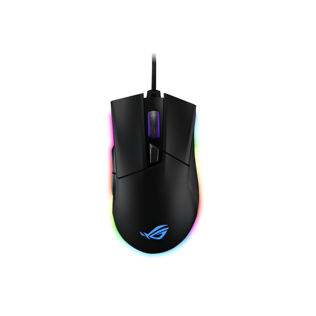Asus Gaming-Maus »Origin«, kabelgebunden, ROG Gladius II