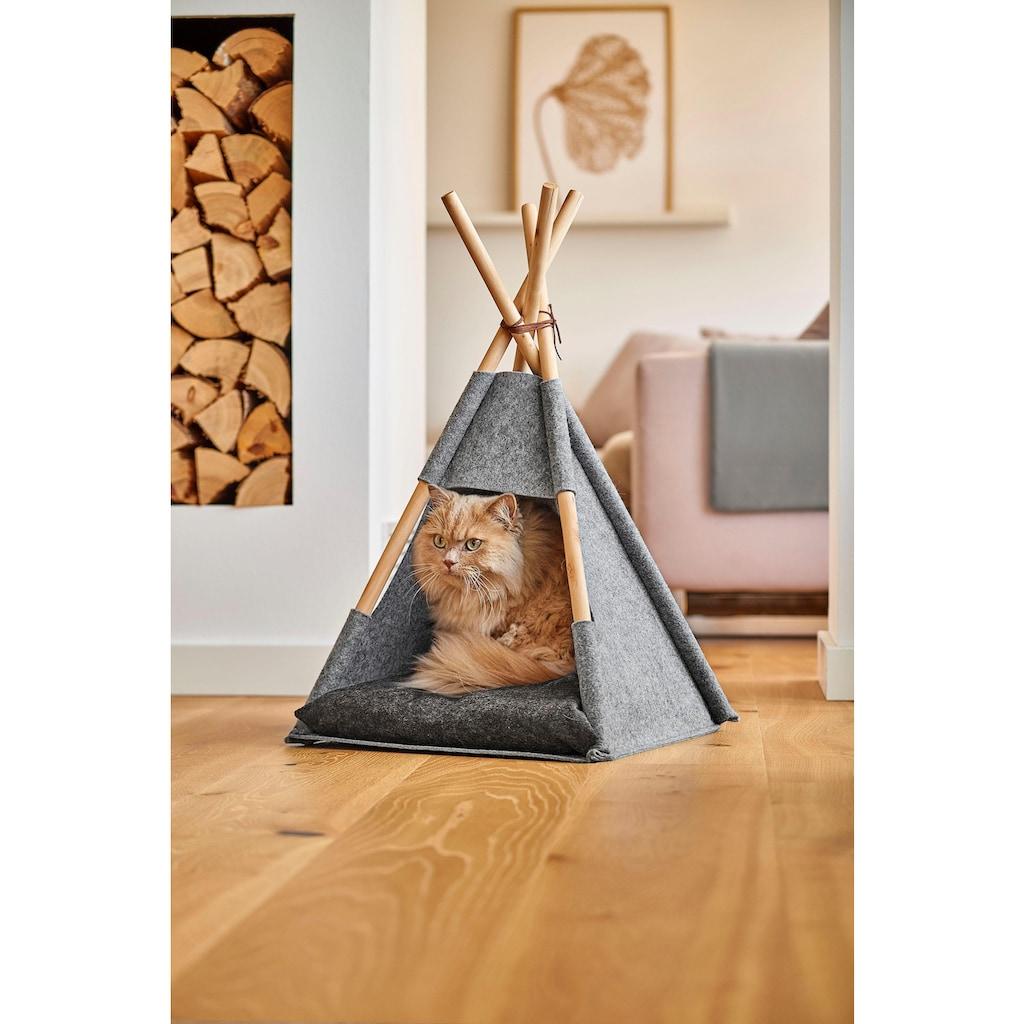 Zeller Present Tierhaus »Katzenzelt Tipi«
