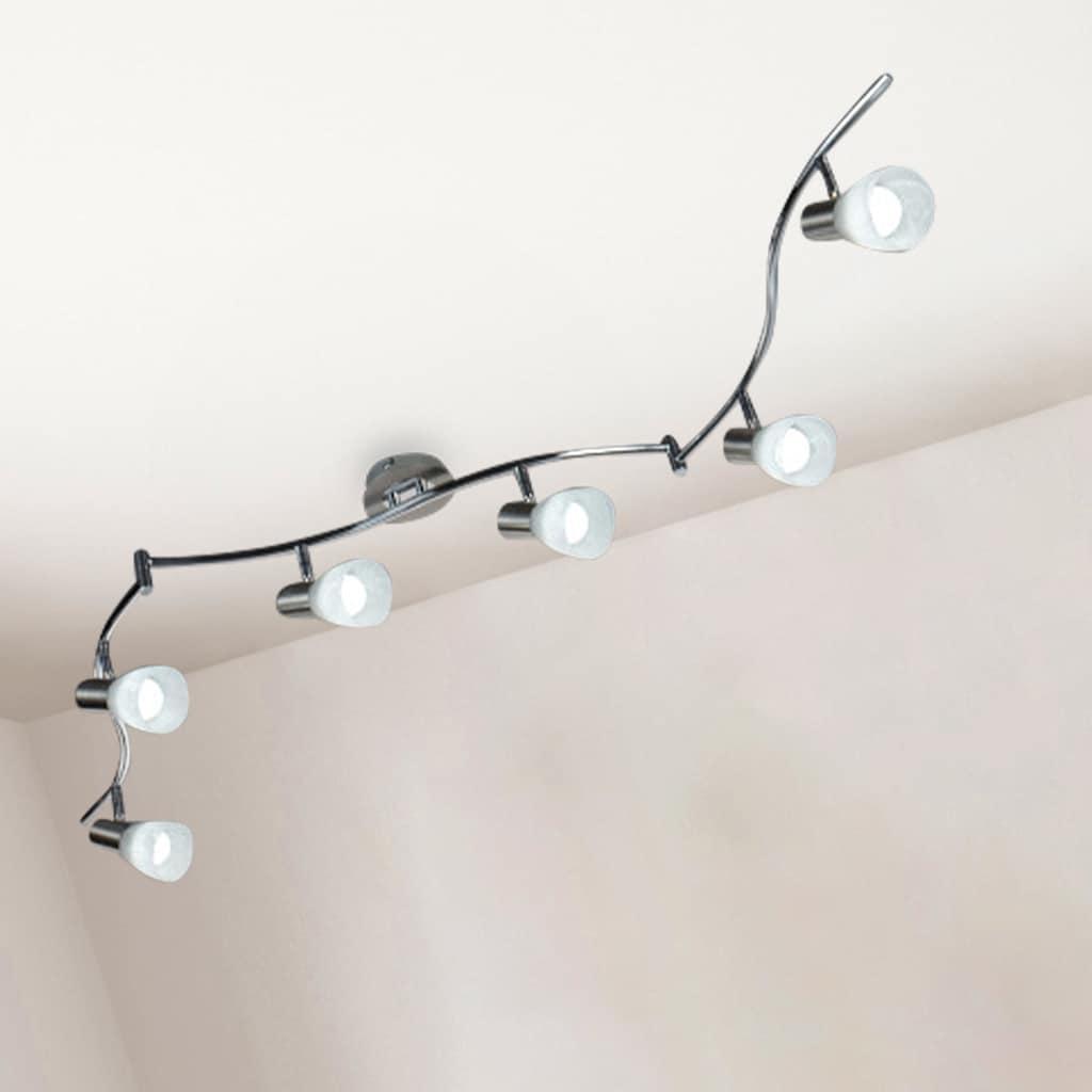 B.K.Licht LED Deckenspots »Lunas«, E14, Warmweiß, LED Deckenleuchte dreh-und schwenkbare Spots Deckenlampe inkl. Leuchtmittel E14 5W IP20